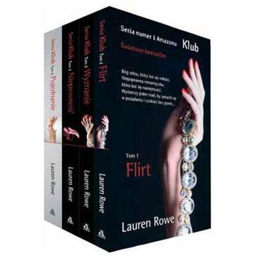 Flirt / Wyznanie / Niepewność / Pojednanie - Lauren Rowe (9788324163816)