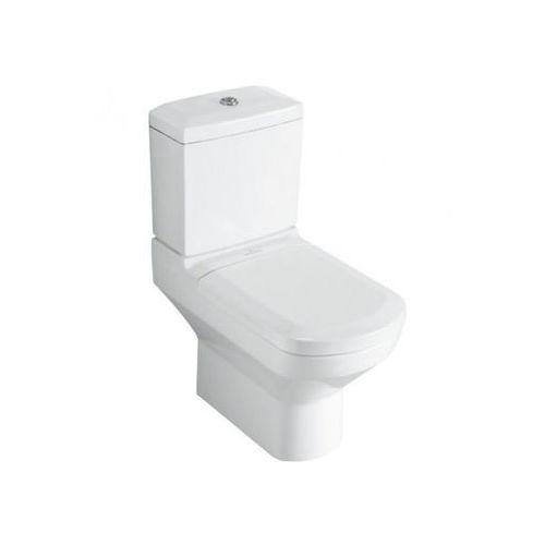 Villeroy & Boch Sentique Miska ustępowa lejowa do WC-kompaktu 37,5x69,5 cm - Weiss Alpin 56251001 - produkt z kategorii- Miski i kompakty WC