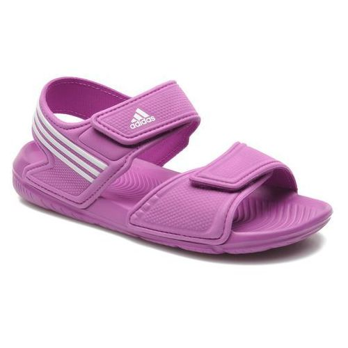 promocje - 10% Sandały Adidas Performance Akwah 9 K Dziecięce Fioletowe - sprawdź w Sarenza