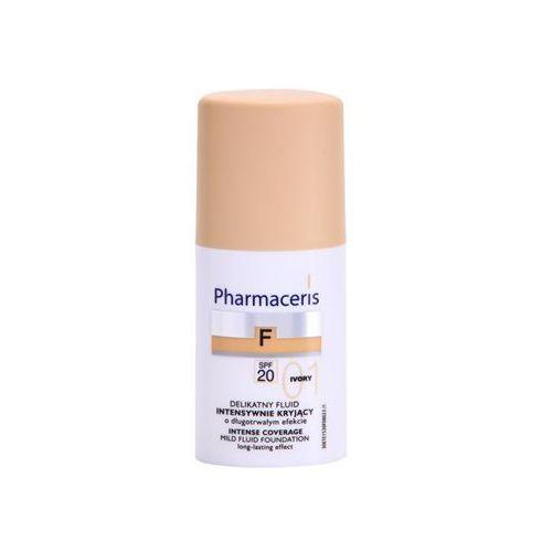 Pharmaceris F-Fluid Foundation intensywnie kryjący fluid o dlugotrwalym działaniu SPF 20 odcień 01 Ivory (For All Skin Types with Imperfections) 30 ml