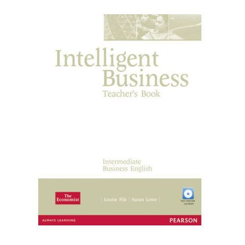 Intelligent Business Intermediate Teacher's Book (książka nauczyciela) + Test Master CD-ROM (9781405843409)