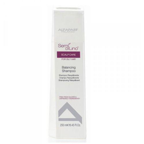 Alfaparf milano Alfaparf semi di lino balancing szampon równoważący do włosów przetłuszczających, 250ml