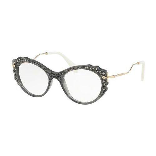 Miu miu Okulary korekcyjne mu01pv usc1o1