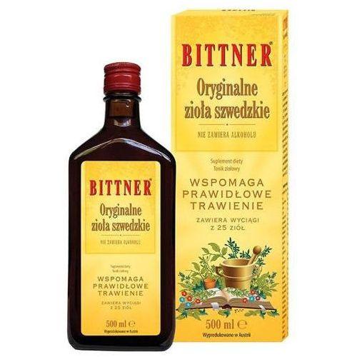 Richard bittner gmbh Bittner oryginalne zioła szwedzkie 500ml