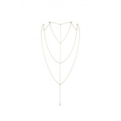 Bijoux Indiscrets - Magnifique Back & Cleavage Chain (złoty), 6_4477