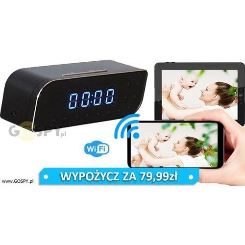 Zegar szpiegowski wifi nx-70 marki Gospy.pl