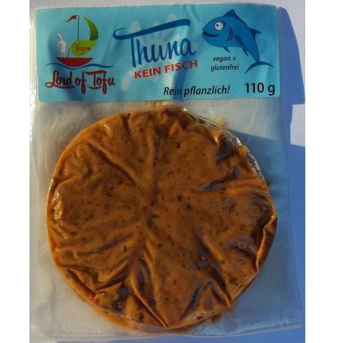 Tuńczyk wegański bezglutenowy bio 110 g - lord of tofu marki Lord of tofu (produkty wegańskie)