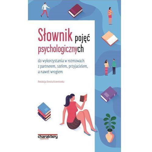 Słownik pojęć psychologicznych, Charaktery