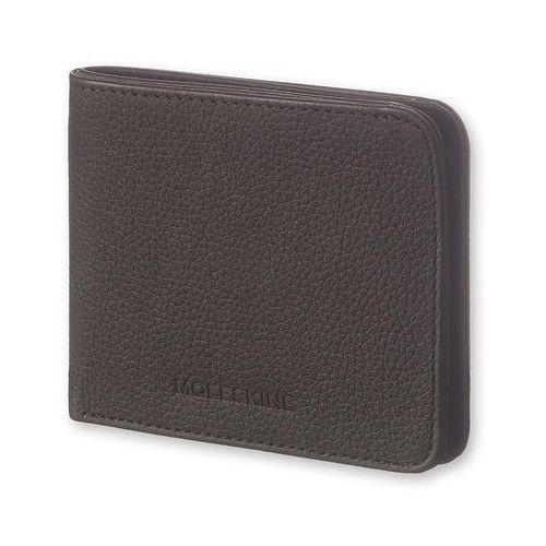 Portfel horizontal wallet lineage czarny marki Moleskine