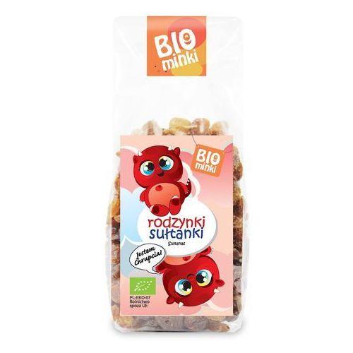 Rodzynki sułtanki bio 150 g - biominki marki Biominki (przekąski dla dzieci)