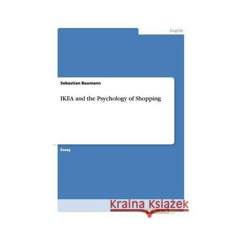 IKEA and the Psychology of Shopping (9783656300601)