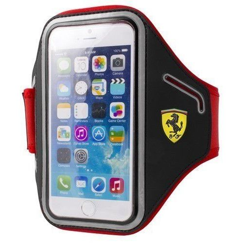 Futerał Ferrari Armband na ramie Apple iPhone 6 / 6S black, kolor Futerał