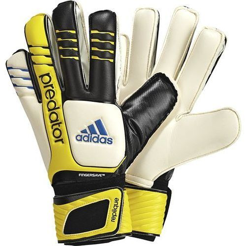 Nowe rękawice bramkarskie predator fingersave rozmiar 9 marki Adidas