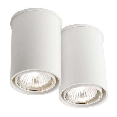 Spot LAMPA sufitowa OSAKA 1120/GU10/BI Shilo natynkowa OPRAWA DOWNLIGHT biały