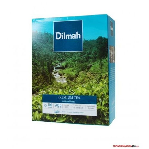 Herbata DILMAH PREMIUM TEA 100szt x2g RG100P PURE CEYLON