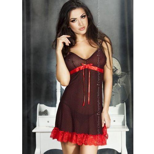Romantyczny komplet (2 kolory), rozmiar: xxl, kolor: czarno-czerwony marki Chilirose