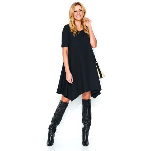 Makadamia sukienka damska 40 czarna (5902041684179)