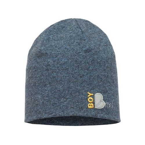 Broel chłopięca czapka Boy 53 niebieski, kolor niebieski