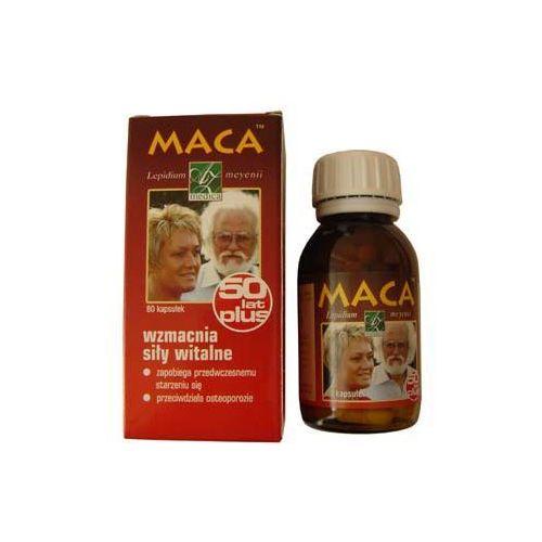 MACA 50 plus - preparat wzmacniający dla osób starszych - 80kaps