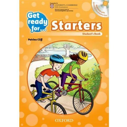 Get Ready For Starters: Students Book & MultiROM Pack (9780194003261)