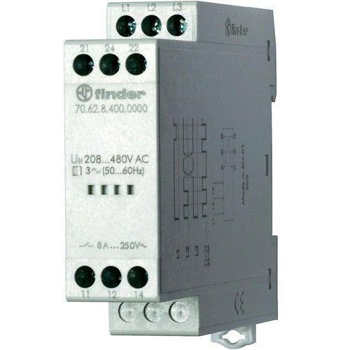 Przekaźnik kontroli napięcia, zaniku, rotacji i niskiej wartości faz 70.62.8.400.0000, 70-62-8-400-0000