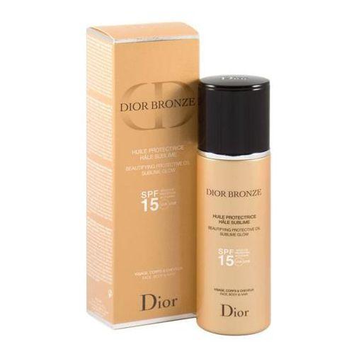 Dior Dior Bronze Dior Bronze rozświetlający ochronny olejek do opalania SPF 15 (Face, Body&Hair) 125 ml (3348901292757)
