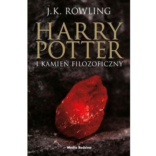 Harry Potter 1 Kamień Filozoficzny TW (czarna...) (328 str.)