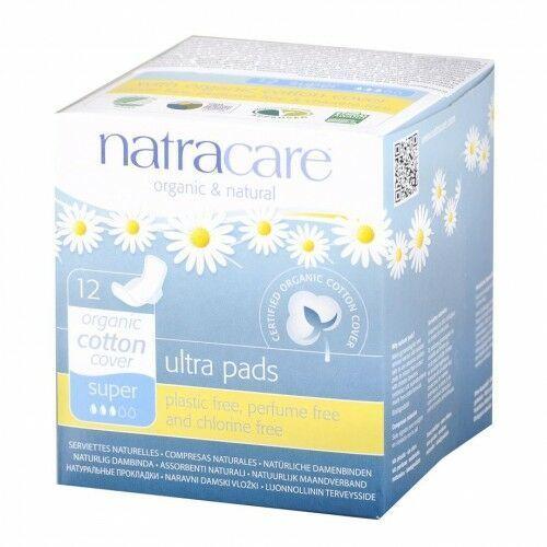 Natracare - Podpaski higieniczne ze skrzydełkami Super, 26323638607