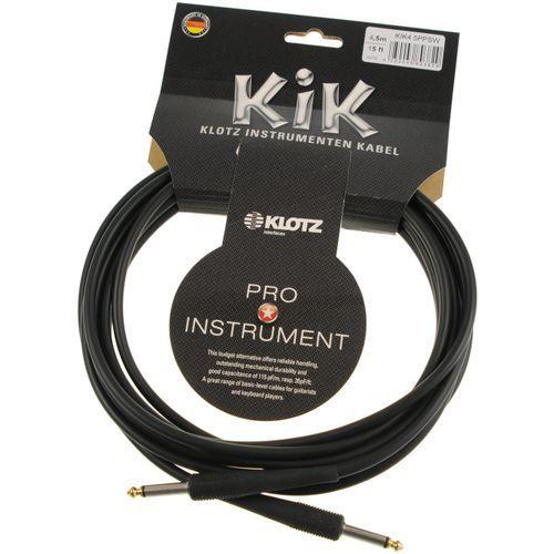Klotz kik 4.5 pp sw kabel instrumentalny 4,5m