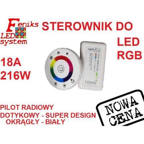 Sterownik kontroler taśm LED RGB RADIOWY DOTYKOWY, FLS00202
