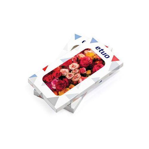 Samsung Galaxy J7 Prime - etui na telefon Foto Case - czerwone róże
