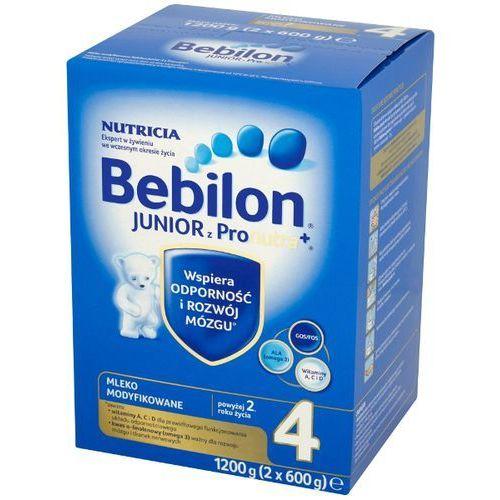 Zestaw 2x BEBILON 1200g Junior 4 z Pronutra Mleko modyfikowane powyżej 2 roku