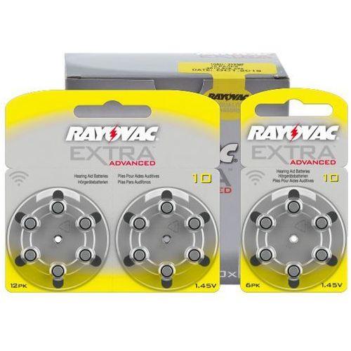 Rayovac 120 x baterie do aparatów słuchowych extra advanced 10 mf