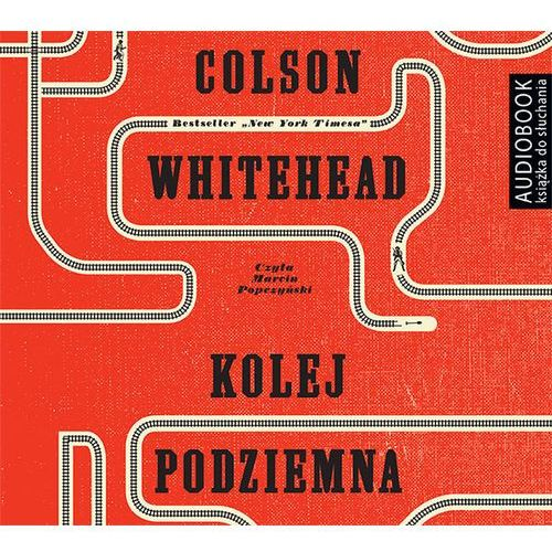 Kolej podziemna (audiobook CD) - COLSON WHITEHEAD DARMOWA DOSTAWA KIOSK RUCHU, Biblioteka Akustyczna