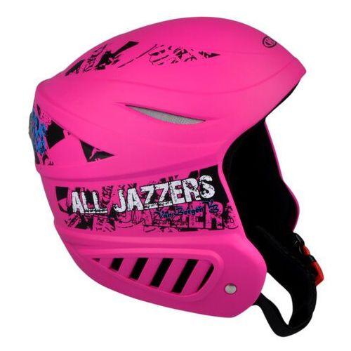 Kask narciarski WORKER Willy, Różowy, XS (48-50) (8595153687656)