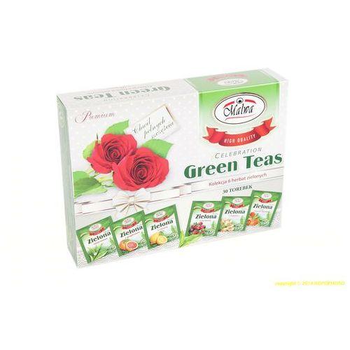 Malwa tea Green tea zestaw herbata zielona malwa herbat na prezent