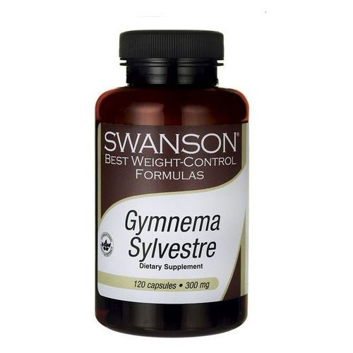 Kapsułki Swanson Gymnema Sylvestre standaryzowana 300mg 120 kaps.