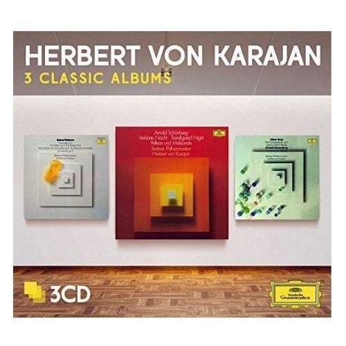 3 classic albums: schoenberg, berg, webern - herbert von karajan (płyta cd) marki Universal music / deutsche grammophon