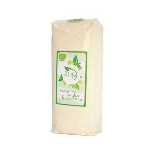 BIOLIFE 500g Mąka kokosowa o niższej zawartości tłuszczu BIO