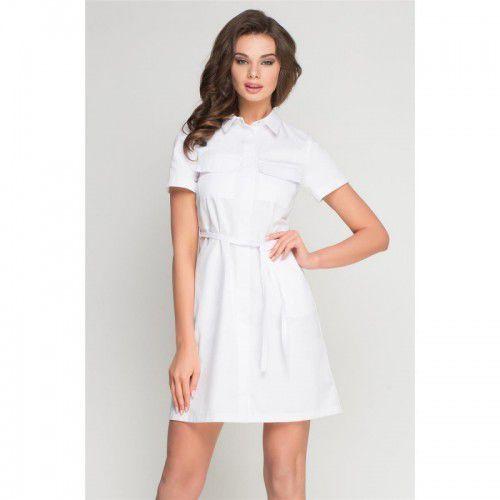 Vena Sukienka medyczna sportivo biała (2000010111176)