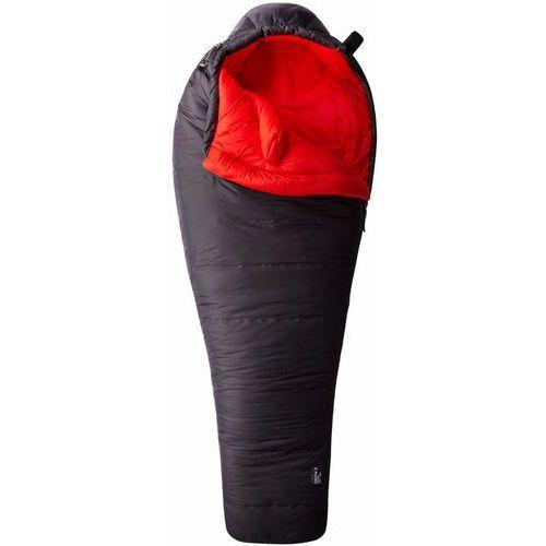 Mountain hardwear lamina z bonfire śpiwór czerwony/czarny prawe 2018 śpiwory syntetyczne