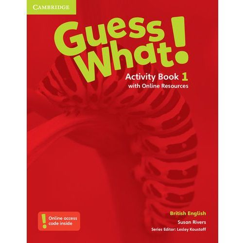 Guess What! 1 Activity Book with Online Resources - Wysyłka od 3,99 (2016)