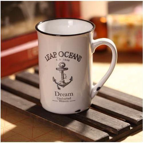 Gadget master Porcelanowy kubek retro - ocean - ocean