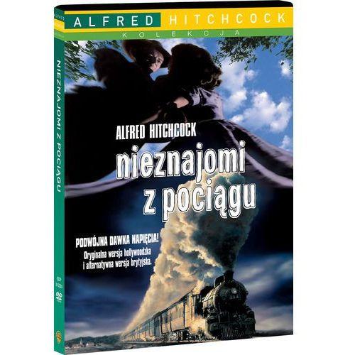 Alfred hitchcock Nieznajomi z pociagu (kolekcja alfreda hitchcocka) (płyta dvd) (7321910153246)