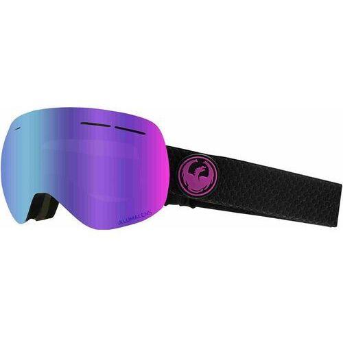 Dragon Gogle snowboardowe - dr x1s 3 split llpurpleion+llamber (003) rozmiar: os