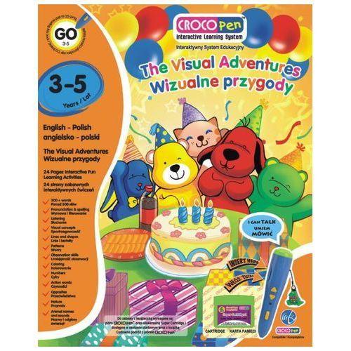 Książka CROCOLEARN KACP85012 Wizualne Przygody 3 - 5 lat