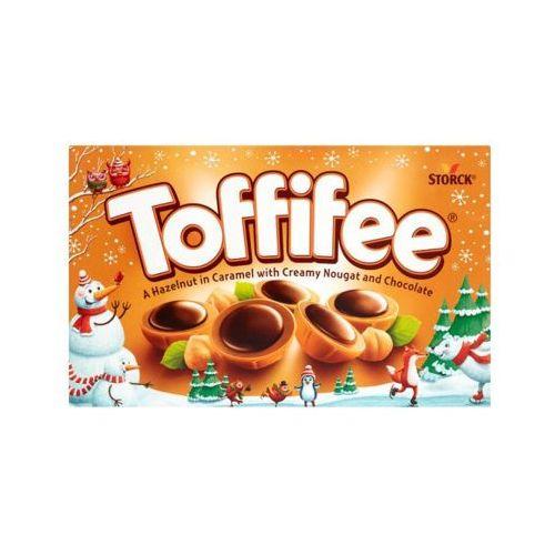 125g czekoladki orzech laskowy w karmelu kremie orzechowym i czekoladzie marki Toffifee