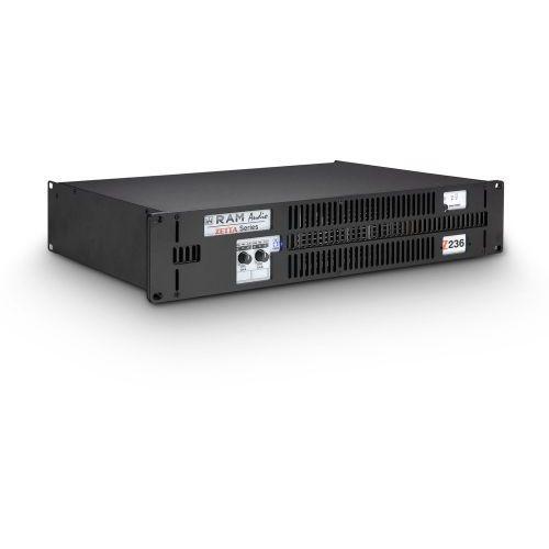 Ram Audio Zetta 236 - Końcówka mocy PA 2 x 1800 W, 2 Ohm