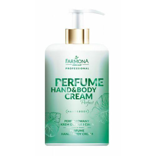 perfume hand & body cream perfect perfumowany krem do rąk i ciała marki Farmona