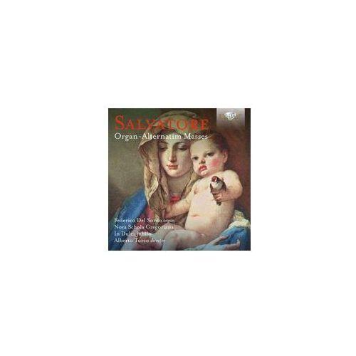 Brilliant classics Salvatore: organ-alternatim masses